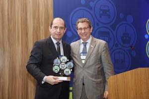 Entrega do Troféu FFV 2015 - Empresa com Sustentabilidade em Produtos (para a Scania)